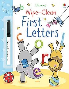 First Letters Wipe-Clean