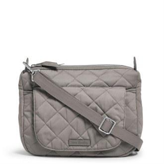 Carson Mini Shoulder Bag: Tranquil Gray