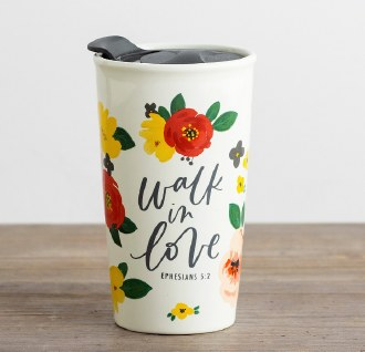 Travel Mug: Walk in Love