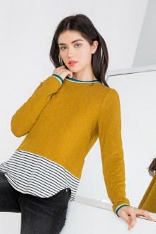 Striped Underlay Top