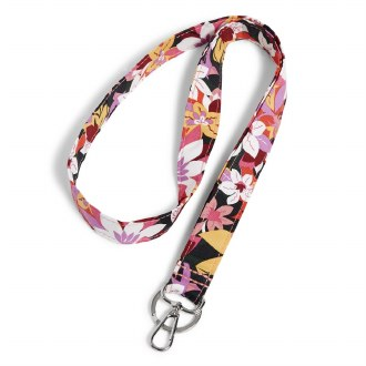 Wide Lanyard: Rosa Floral
