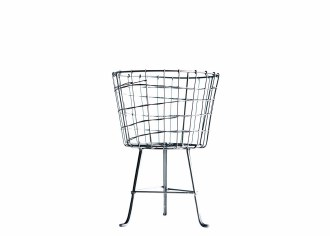 Wire Basket with Legs