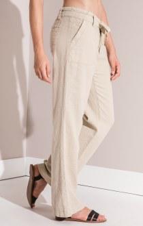 Woodlock Tie Front Pant