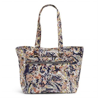 Work Tote: Tangier Paisley