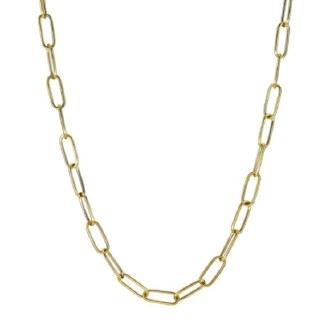 Golden Accord Paper Clip Chain
