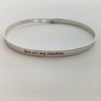 You are my Sunshine (Silver)