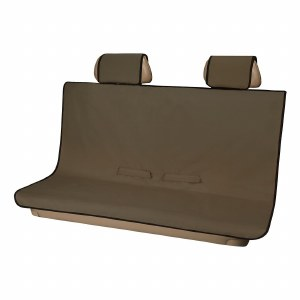 Seat Defender Bench Seat Cover - Brown