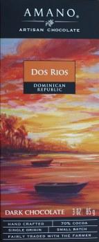 Amano Dos Rios 70% Dark Chocolate
