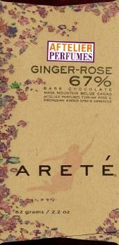 Areté Ginger Rose 67% Dark Chocolate