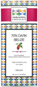 Charm School Belize 70% Dark Chocolate
