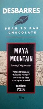 Desbarres Maya Mountain 72% Dark Chocolate
