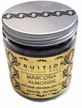 Fruition Dark Chocolate Coated Marcona Almonds with Rosemary & Olive Oil
