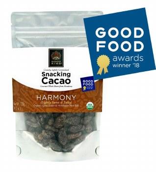 "Good King Gourmet Snacking Cacao (Whole Bean) - ""Harmony"" 4.2oz"