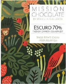 Mission Chocolate Fazenda Camboa Escuro 70% Dark Chocolate