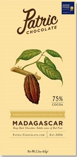 Patric Madagascar 75% Dark Chocolate