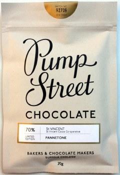 Pump Street Panettone 70% Dark Chocolate