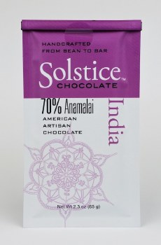 Solstice Chocolate India Anamalai 70%