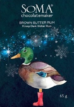 Soma Brown Butter Rum Milk Chocolate Bar