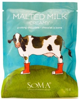 "Soma ""Malted Milk"" Drinking Chocolate"