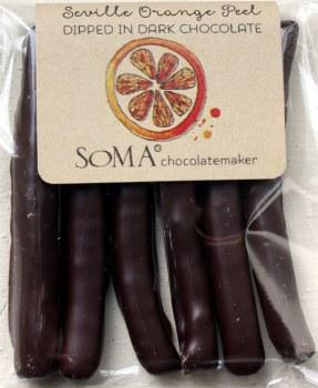 Soma Seville Orange Peel in Dark Chocolate