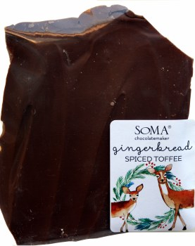 Soma Spiced Gingerbread Toffee