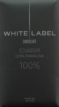 White Label Costa Esmeralda, Ecuador 100% Dark Chocolate