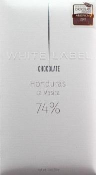 White Label La Masica, Honduras 74% Dark Chocolate