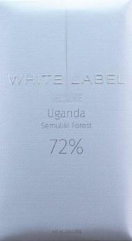 White Label Semuliki Forest, Uganda 72% Dark Chocolate