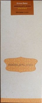 Xocolatl de David Brown Butter 72% Dark Chocolate