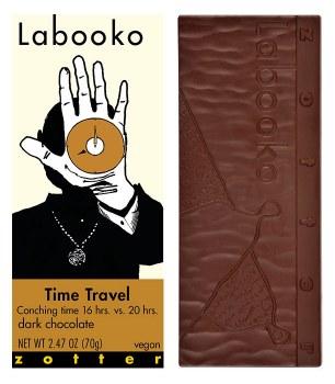 "Zotter ""Time Travel"" 70% Dark Chocolate Bar"