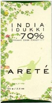Areté India Idukki 70% Dark Chocolate