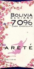 Areté Beniano, Bolivia 70% Dark Chocolate
