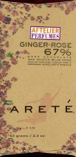 Areté Ginger Rose 67% Dark Chocolate