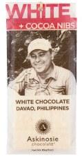 Askinosie White Chocolate Nibble Bar