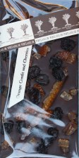Chocolate Maker's Studio Orange Confit & Cherries Dark Chocolate Bar