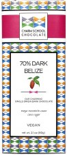 Charm School Belize 70% Dark Chocolate