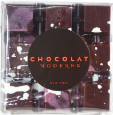 Chocolat Moderne Smoked Sea Salt Dark Chocolate Avant-Garde Bar