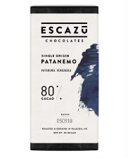 Escazu Patanemo, Venezuela 80% Dark Chocolate