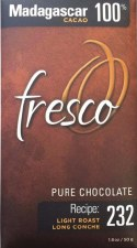 Fresco Madagascar 100% Dark Chocolate