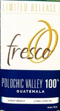 Fresco Polochic Valley 100% Dark Chocolate
