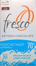 Fresco Polochic Valley, Guatemala Medium Roast 70% Dark Chocolate