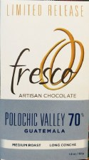 Fresco Polochic Valley, Guatemala Medium Roast 70% Dark Chocolate