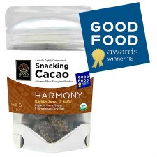 "Good King Gourmet Snacking Cacao (Whole Bean) - ""Harmony"" 1.1oz"