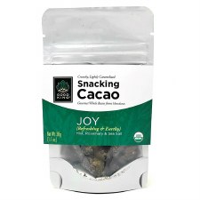 "Good King Gourmet Snacking Cacao (Whole Bean) - ""Joy"" 1.1oz"