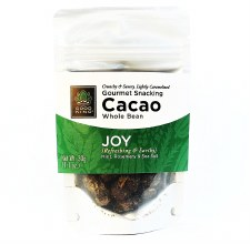 "Good King Gourmet Snacking Cacao (Whole Bean) - ""Joy"" 1.1oz"