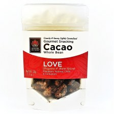 "Good King Gourmet Snacking Cacao (Whole Bean) - ""Love"" 1.1oz"