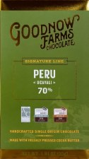 Goodnow Farms Ucayali, Peru 70% Dark Chocolate