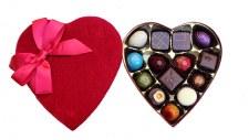 Premium Velvet Heart Truffle Box 14pc