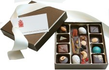 Nuts & Caramel Chocolate Collection 12pc
