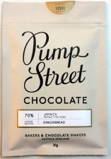 Pump Street Gingerbread 70% Dark Chocolate